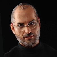 Cancelled Steve Jobs GI Joe / Action Man style doll by In Icons