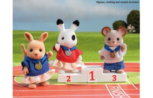 Sylvanian Families Games Winners Podium (4398)