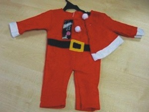Recalled Santa Outfit Sold at Poundland