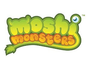 Logo for Moshi Monsters by Mind Candy