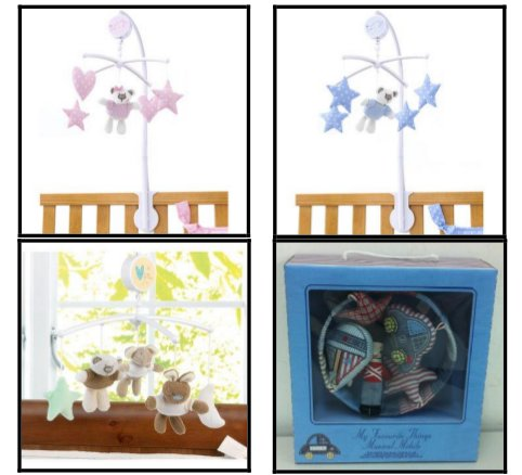 Recalled Babies R Us cot mobiles sold at Toys R Us