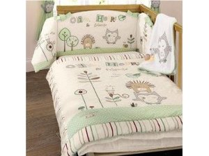 Recalled Olive and Henry Bedding Set sold by Toys R Us