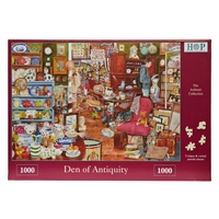 House of Puzzles Den of Aniquity 1000 Piece Jigsaw Puzzle
