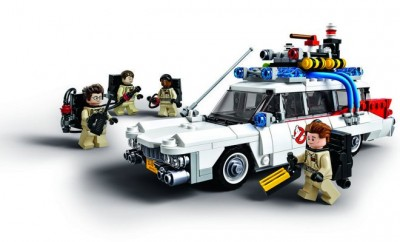 LEGO CUUSOO Ghostbusters ECTO-1 front view