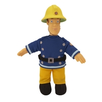 "Fireman Sam 8"" Plush Collectables- Fireman Sam"