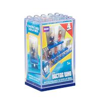 Character Building Micro Figure Display Brix - S