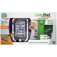 LeapFrog LeapPad Ultra With Child Friendly Headphones, Pink