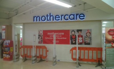 Mothercare concession in Tesco Prescot