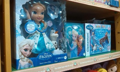 Disney Frozen Snow Glow Elsa on the shelves of an Early Learning Centre
