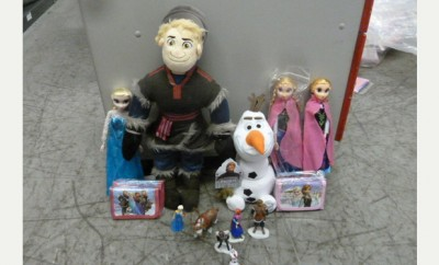Fake Disney Frozen Goods Seized at Stansted Airport
