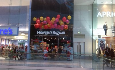 Hawkins Bazaar White City Westfield London 2014