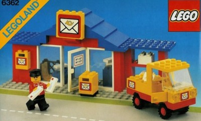 LEGO 6362 Legoland Post Office