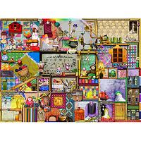 Ravensburger The Craft Cupboard 1000 Piece Jigsaw Puzzle