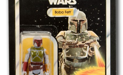 Never! Risk The Fett Man It Could be Worth £18,000 at Auction