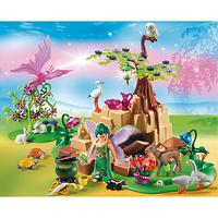 Playmobil Fairies Healing Fairy Elixia In Animal Forest