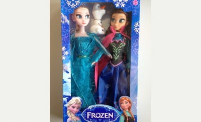 Fake Disney Frozen dolls seized in Devon