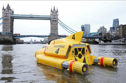 Thunderbird 4 Thames London Tower Bridge