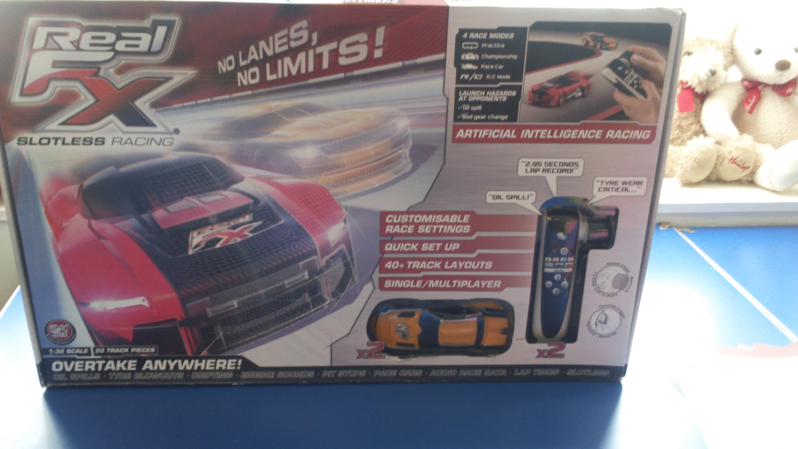 Real FX Slotless Racing Box