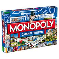 Winning Moves Cardiff Edition Monopoly