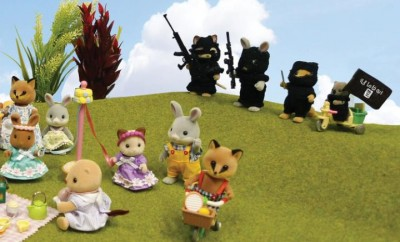ISIS Threaten Sylvanian - Picnic scene by Mimsy