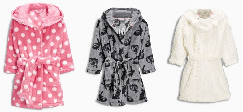 Recalled Next Children's Robes 799768 790152 936100