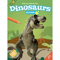 Fold-Out Activity Fun Dinosaurs Book & Stickers