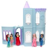 Moxie Girlz 96cm Princess Ice Castle Dolls House with 5 Moxie Fashion Dolls from The Entertainer