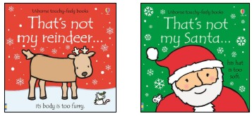 Recalled Thats Not My Santa and Reindeer Books by Usbourne