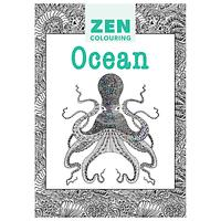 Zen Colouring Ocean Adult Colouring Book