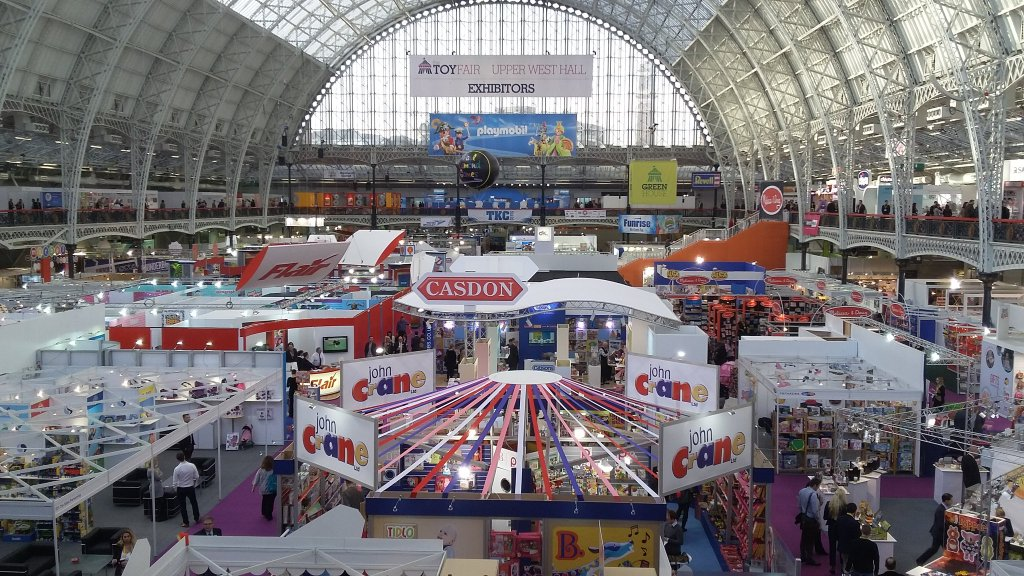 Toy Fair 2016 Olympia London