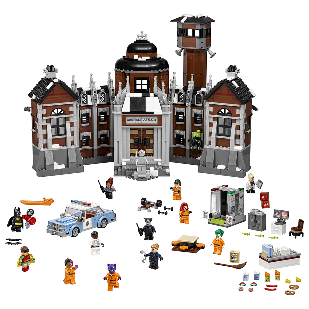 The LEGO Batman Movie Arkham Asylum 70912