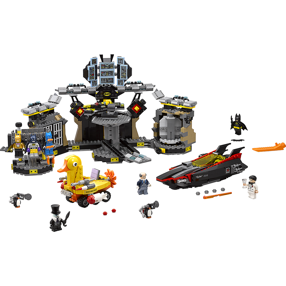 The LEGO Batman Movie Batcave Break-in 70909