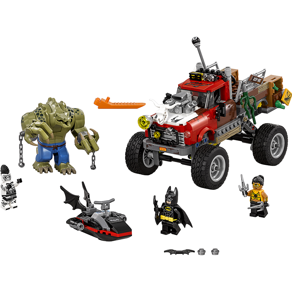 The LEGO Batman Movie Killer Croc-tail Gator 70907