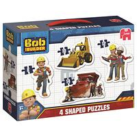 Bob The Builder 4-in-1 Shaped Puzzles