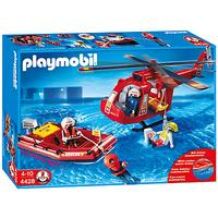 Playmobil Rescue Helicopter & Boat Set