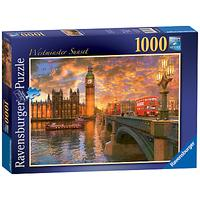 Ravensburger Westminster Sunset Jigsaw Puzzle, 1000 Pieces