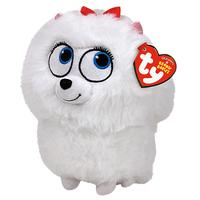 Ty Beanie The Secret Life of Pets Gidget Soft Toy, 14cm