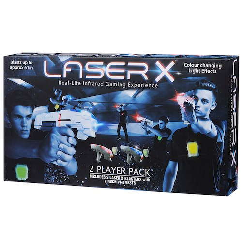 DreamToys 2017 Laser X Two Player Laser Tag Game