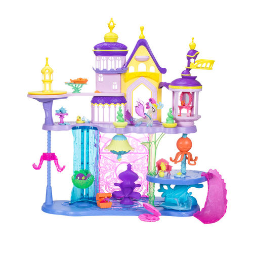 DreamToys 2017 My Little Pony Canterlot and Seaquestria Castle Playset