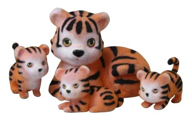 Jungle In My Pocket Tiger Family