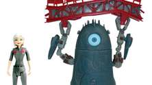 Monsters vs Aliens playset.