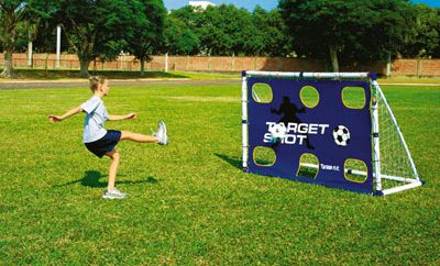3-in-1 Rebounder trainer goal posts from Bright Minds