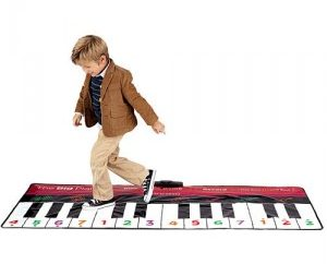 Large toy floor piano by FAO Schwarz