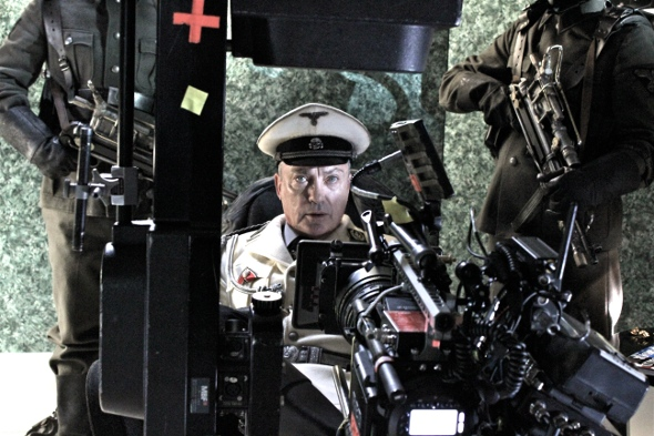 Udo Kier as Wolfgang Kortzfleish in the motion picture Iron Sky