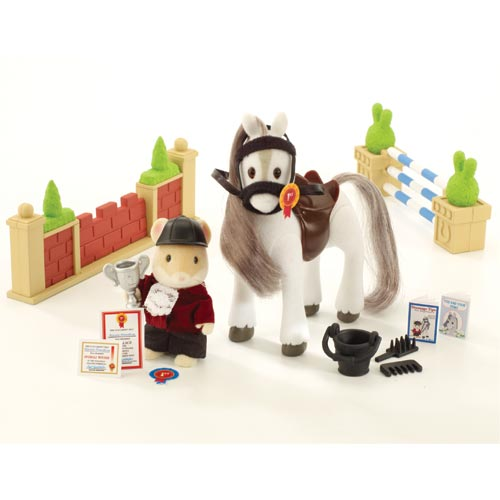 Sylvanian Families Games Show Jumping Set (4588): complete contents