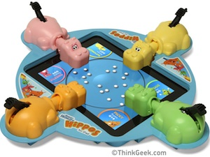 April Fool Hungry Hungry Hippos iPad (small image)