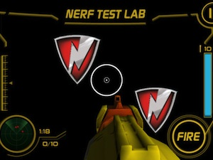 Nerf App for iPhone and iPod Touch
