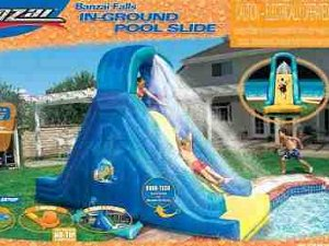 Recalled Banzai inflatable pool slide