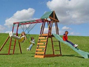 Recalled Adventure Playsets Swings, Slide and Climber as sold at Walmart and others