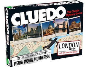 Cluedo London Edition by Winning Moves